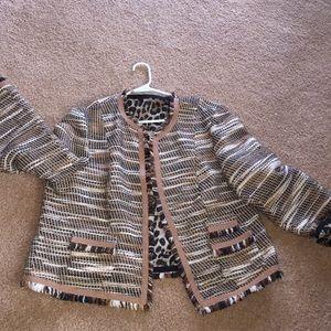 Jacket boucle